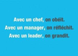 chef vs manager vs leader