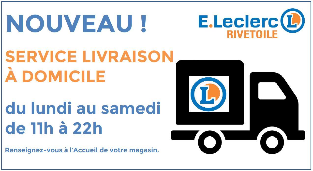 Leclerc livraison 8  Cofordis